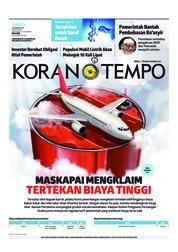 Cover Koran TEMPO 22 Januari 2019