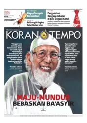 Cover Koran TEMPO 23 Januari 2019