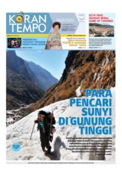 Cover Koran TEMPO 09 Februari 2019
