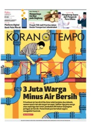Cover Koran TEMPO 13 Februari 2019
