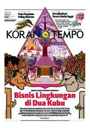 Cover Koran TEMPO 14 Februari 2019