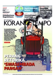 Cover Koran TEMPO 15 Februari 2019