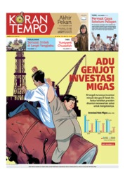 Cover Koran TEMPO 16 Februari 2019