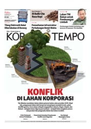 Cover Koran TEMPO 20 Februari 2019