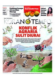 Cover Koran TEMPO 21 Februari 2019
