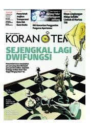 Cover Koran TEMPO 22 Februari 2019