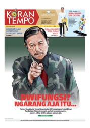 Cover Koran TEMPO 23 Februari 2019