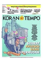 Cover Koran TEMPO 12 Maret 2019
