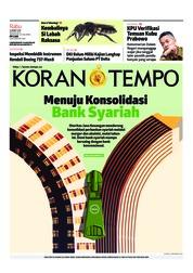 Cover Koran TEMPO 13 Maret 2019