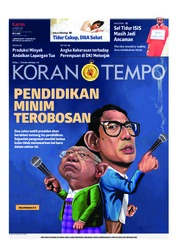 Cover Koran TEMPO 14 Maret 2019