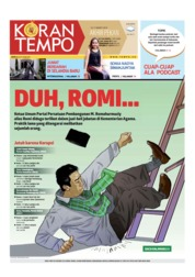 Koran TEMPO Cover 16 March 2019