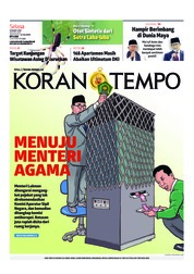 Koran TEMPO Cover 19 March 2019