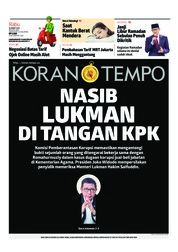 Koran TEMPO Cover 20 March 2019