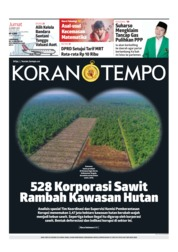 Koran TEMPO Cover 22 March 2019