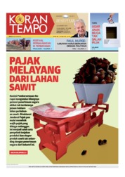 Koran TEMPO Cover 23 March 2019