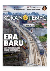 Koran TEMPO Cover 25 March 2019