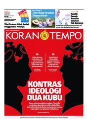 Cover Koran TEMPO 27 Maret 2019