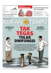 Cover Koran TEMPO 28 Maret 2019