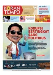 Cover Koran TEMPO 30 Maret 2019