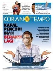 Cover Koran TEMPO 01 April 2019