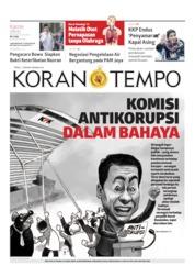 Cover Koran TEMPO 11 April 2019