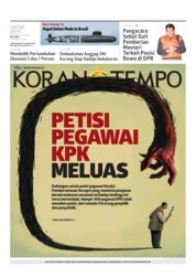 Koran TEMPO Cover 12 April 2019