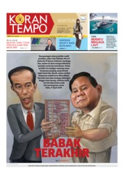 Koran TEMPO Cover 13 April 2019