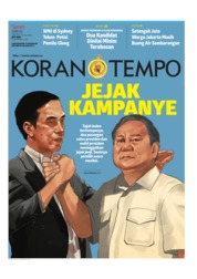 Koran TEMPO Cover 15 April 2019