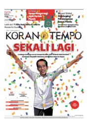 Cover Koran TEMPO 18 April 2019