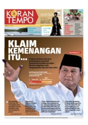 Cover Koran TEMPO 20 April 2019
