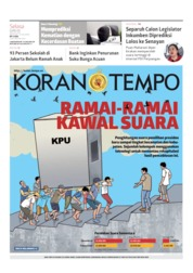 Koran TEMPO Cover 23 April 2019