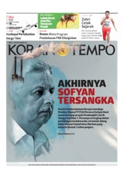Cover Koran TEMPO 24 April 2019