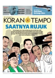 Cover Koran TEMPO 25 April 2019