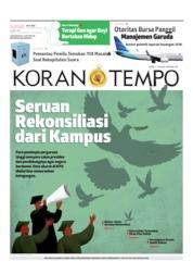 Koran TEMPO Cover 26 April 2019