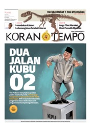 Koran TEMPO Cover