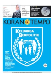 Koran TEMPO Cover 16 May 2019