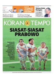 Koran TEMPO Cover 17 May 2019