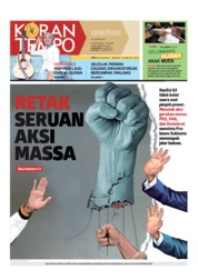 Koran TEMPO Cover 18 May 2019