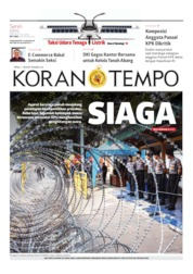 Koran TEMPO Cover 20 May 2019