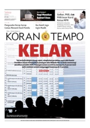 Koran TEMPO Cover 21 May 2019