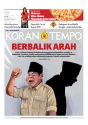 Koran TEMPO Cover 22 May 2019