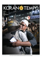 Cover Koran TEMPO 23 Mei 2019