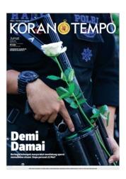 Cover Koran TEMPO 24 Mei 2019
