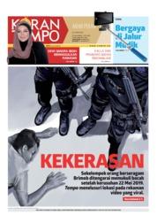 Cover Koran TEMPO 25 Mei 2019