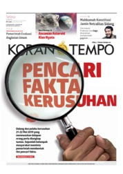 Koran TEMPO Cover 11 June 2019