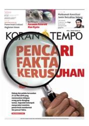 Cover Koran TEMPO 11 Juni 2019