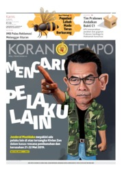 Koran TEMPO Cover 13 June 2019