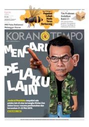 Cover Koran TEMPO 13 Juni 2019
