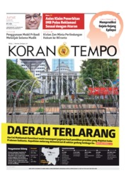 Koran TEMPO Cover 14 June 2019