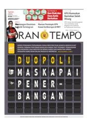 Cover Koran TEMPO 17 Juni 2019